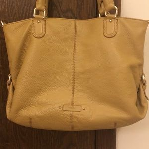 Cole Haan pebble leather tote
